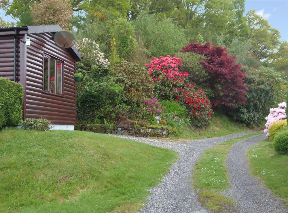 Exterior at Mountain View in Taynuilt, near Oban, Argyll
