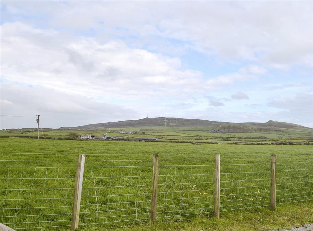 Splendid views on for the beautiful surrounding scenery of the LLyn Peninsula at Mur Llwyd in Rhoshirwaun, near Pwllheli, Gwynedd