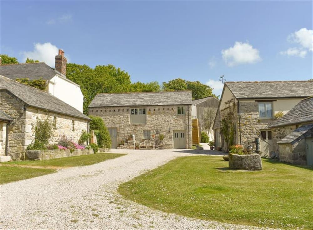 Characterful converted farm buildings