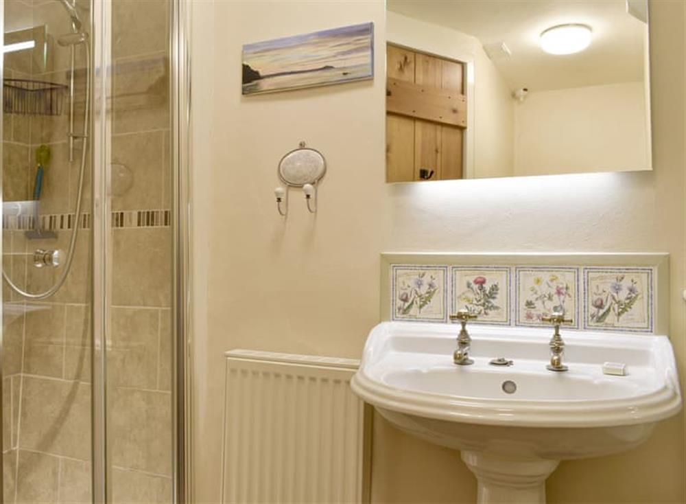 Shower cubicle within the en-suite