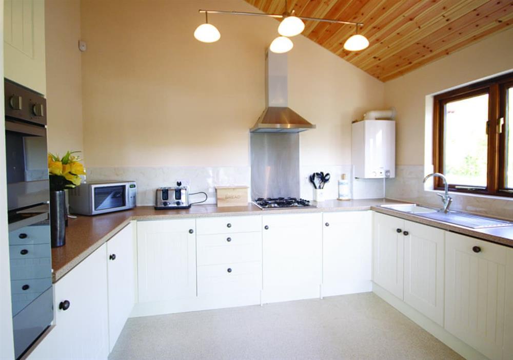 Nautical Nook kitchen at Nautical Nook in Norwich, Norfolk