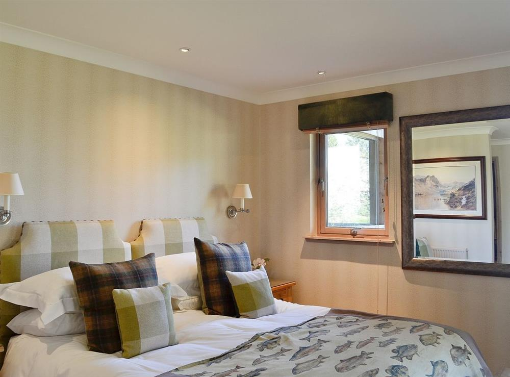 Double bedroom at River Lodge,