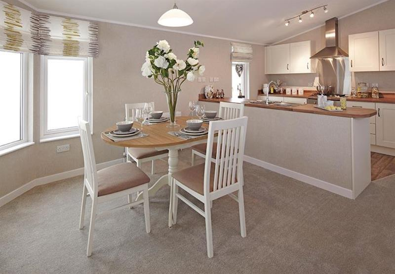 Typical Ash Lodge (photo number 6) at New Oaks Farm Lodges in West Lydford, Somerset