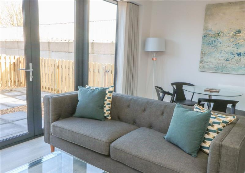 Relax in the living area at Newland, Chester