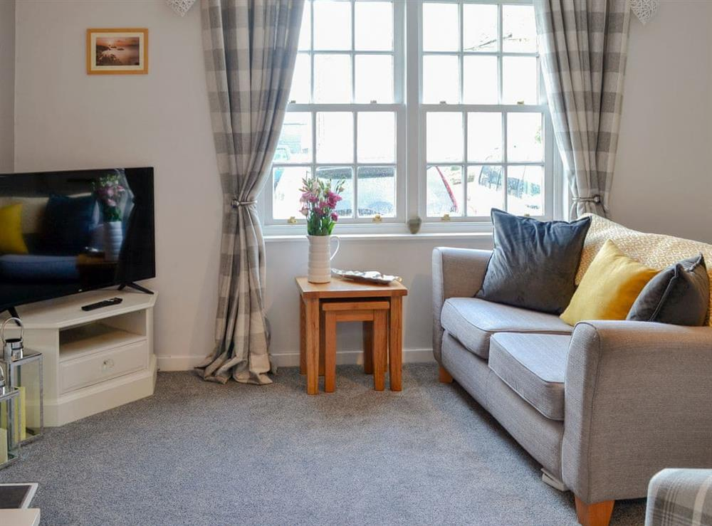 Living room at No 7 in Gatehouse of Fleet, Kirkcudbrightshire