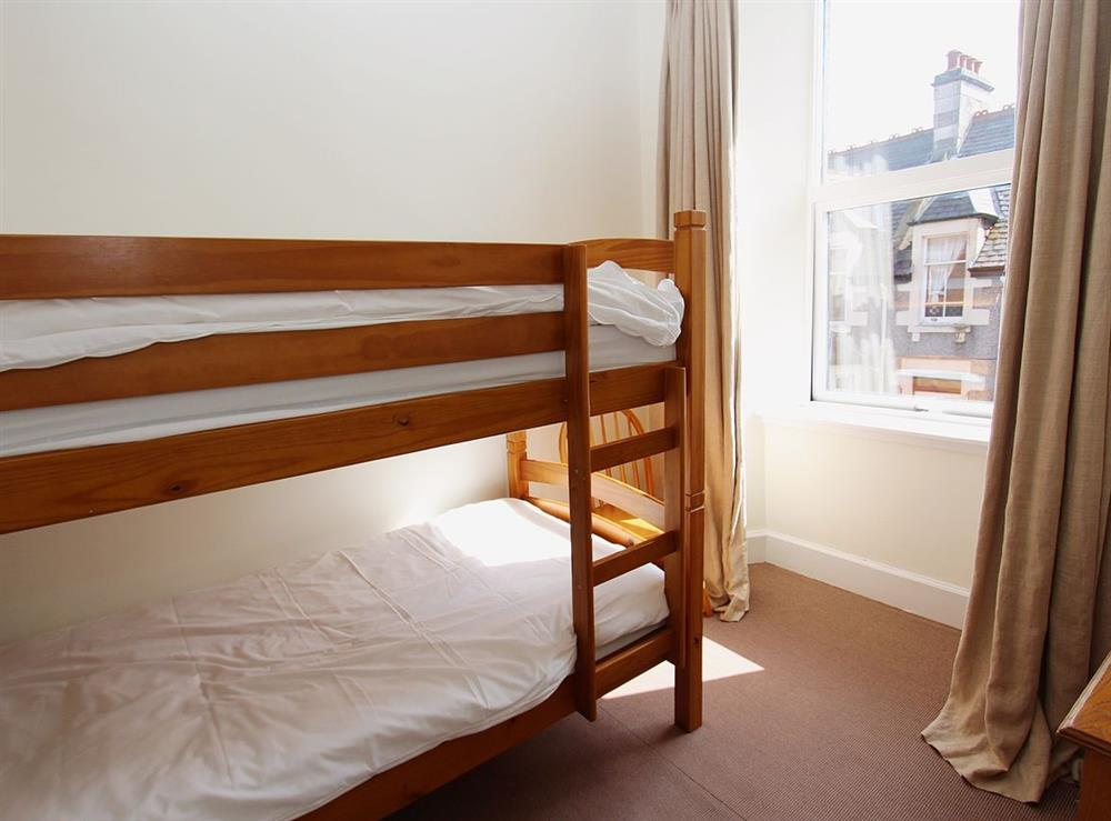 Bunk bedroom at No.9 in Inverness, Highland