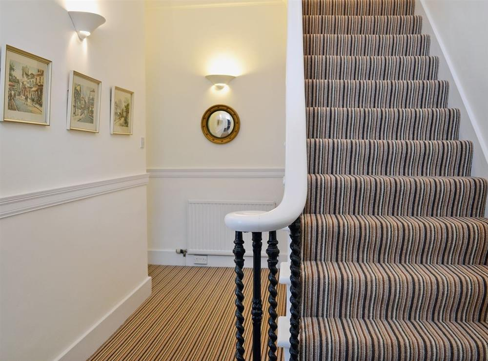 Hallway at No.9 in Inverness, Highland