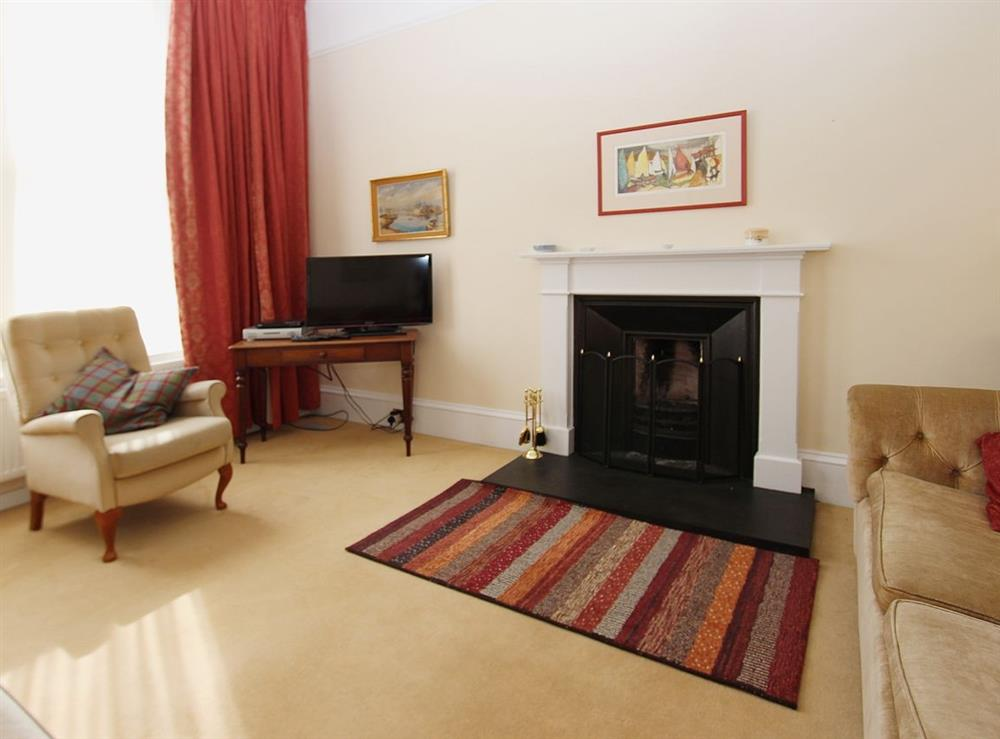Living room at No.9 in Inverness, Highland