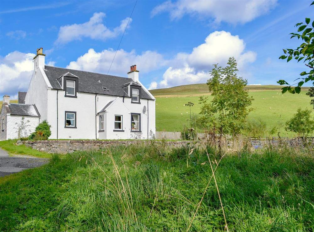 Charming, detached holiday home at North Balloch Farmhouse in Barr, near Girvan, Ayrshire