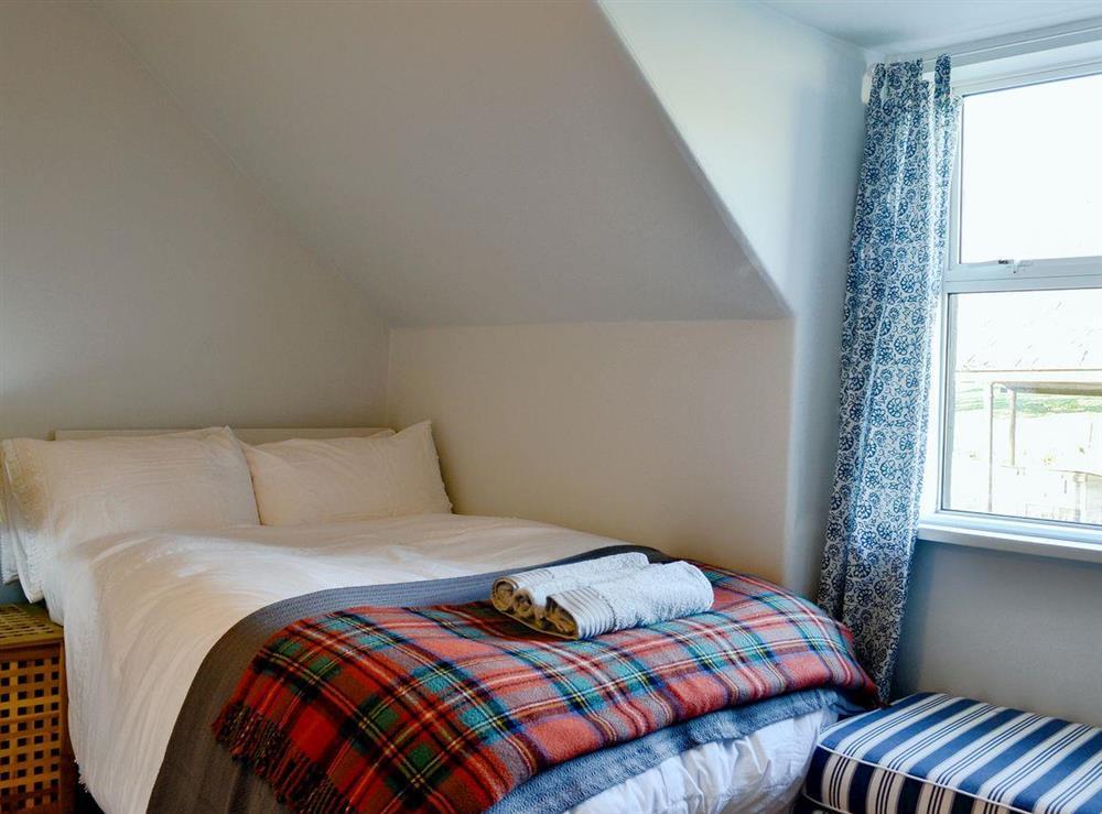 Cosy double bedroom (photo 2) at North Balloch Farmhouse in Barr, near Girvan, Ayrshire
