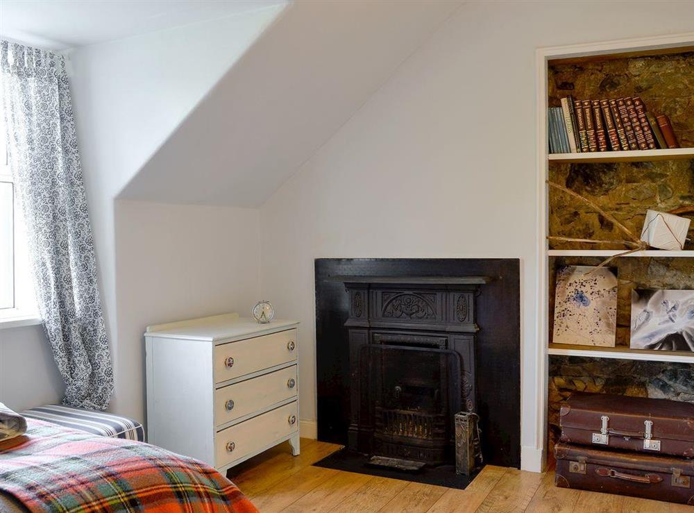 Cosy double bedroom at North Balloch Farmhouse in Barr, near Girvan, Ayrshire