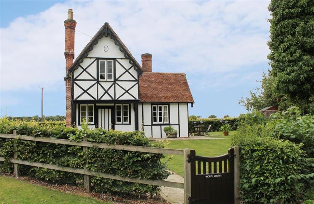 Garden at North Lodge, Finchingfield, Essex