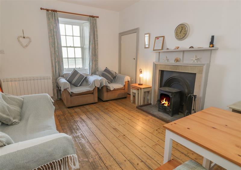 The living room at North Segganwell, Maybole