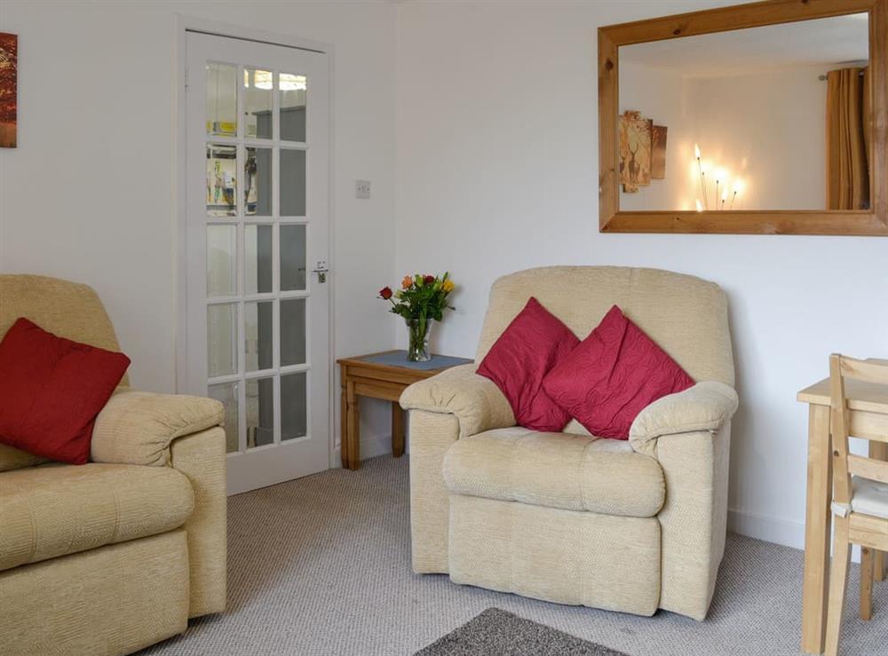 Living room/dining room at North Street in Glenluce, near Stranraer, Wigtownshire