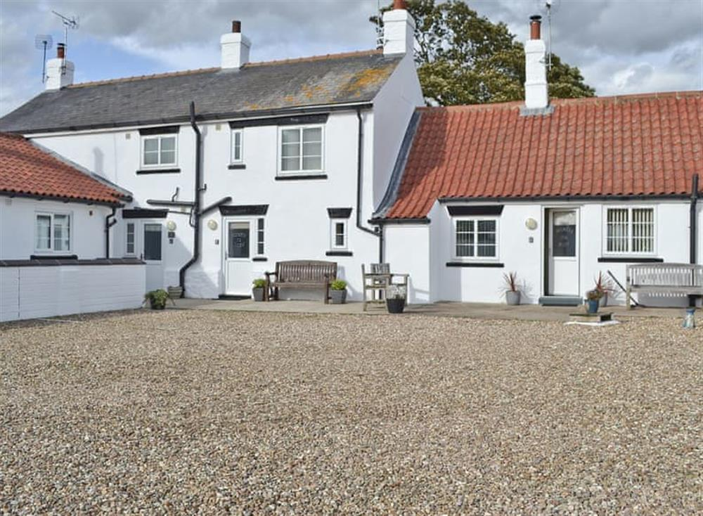 Terraced cottage at North View Cottage in Barmston, near Bridlington, North Humberside