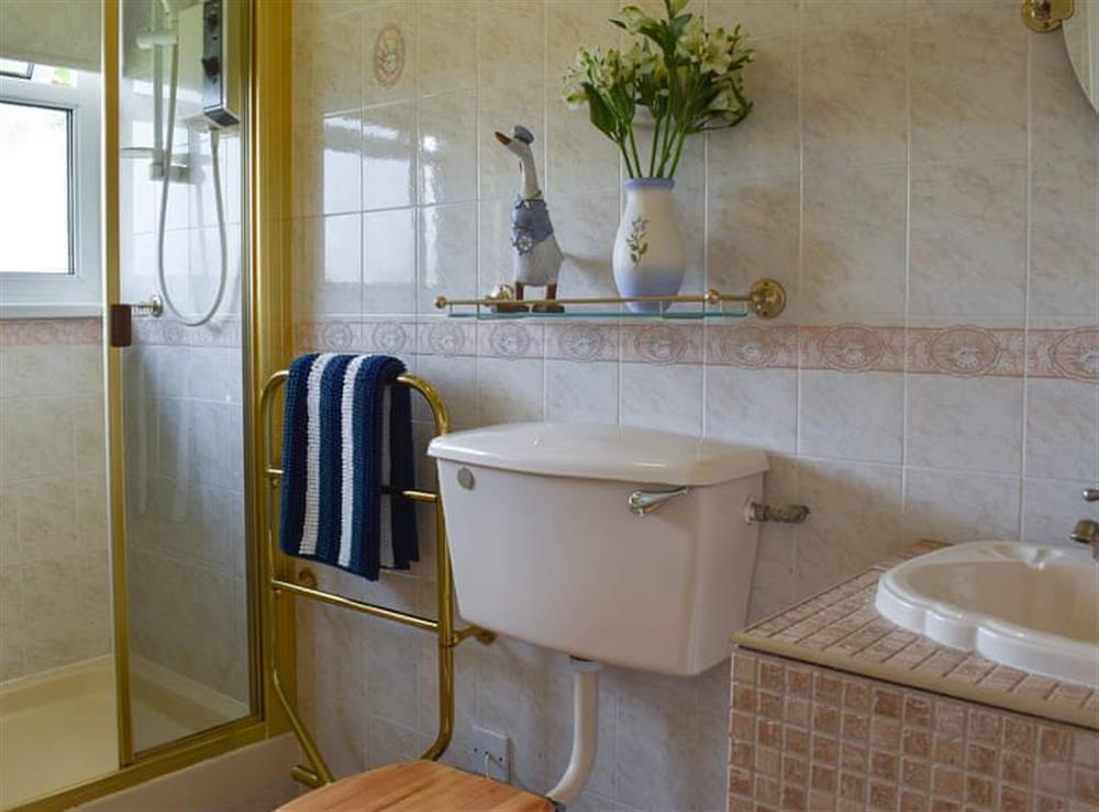 Bathroom at Norton Park in Dartmouth, Devon