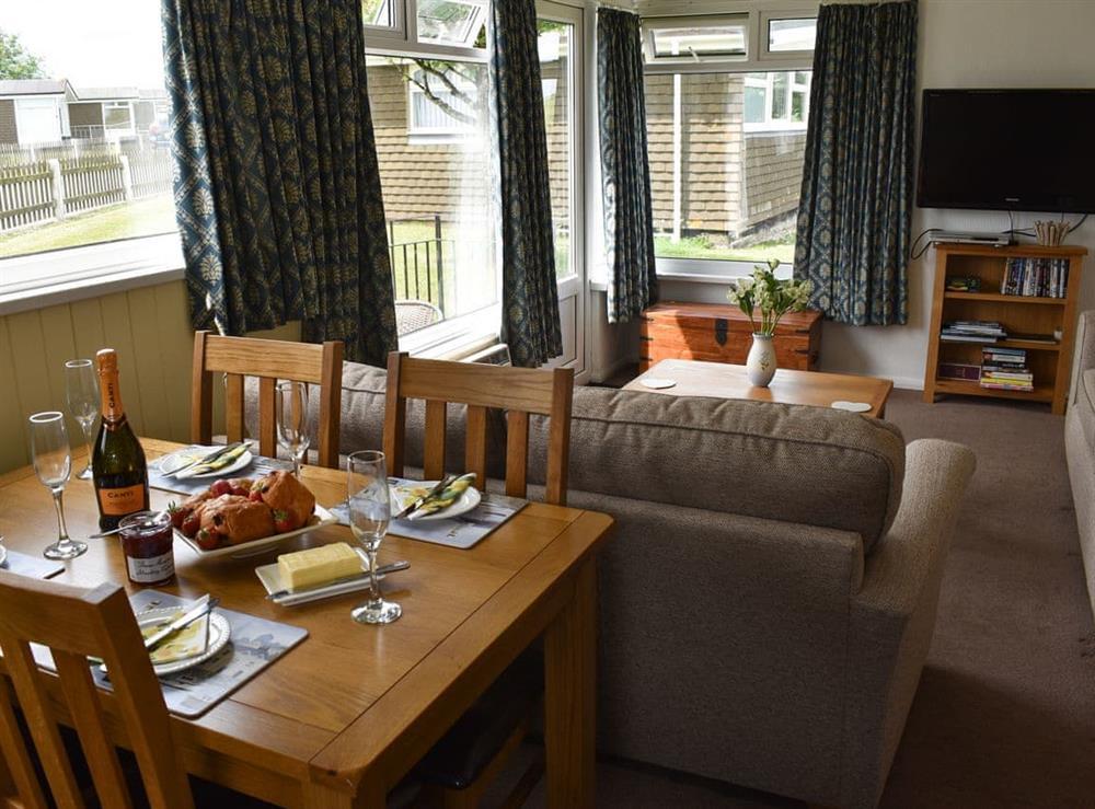 Dining area at Norton Park in Dartmouth, Devon