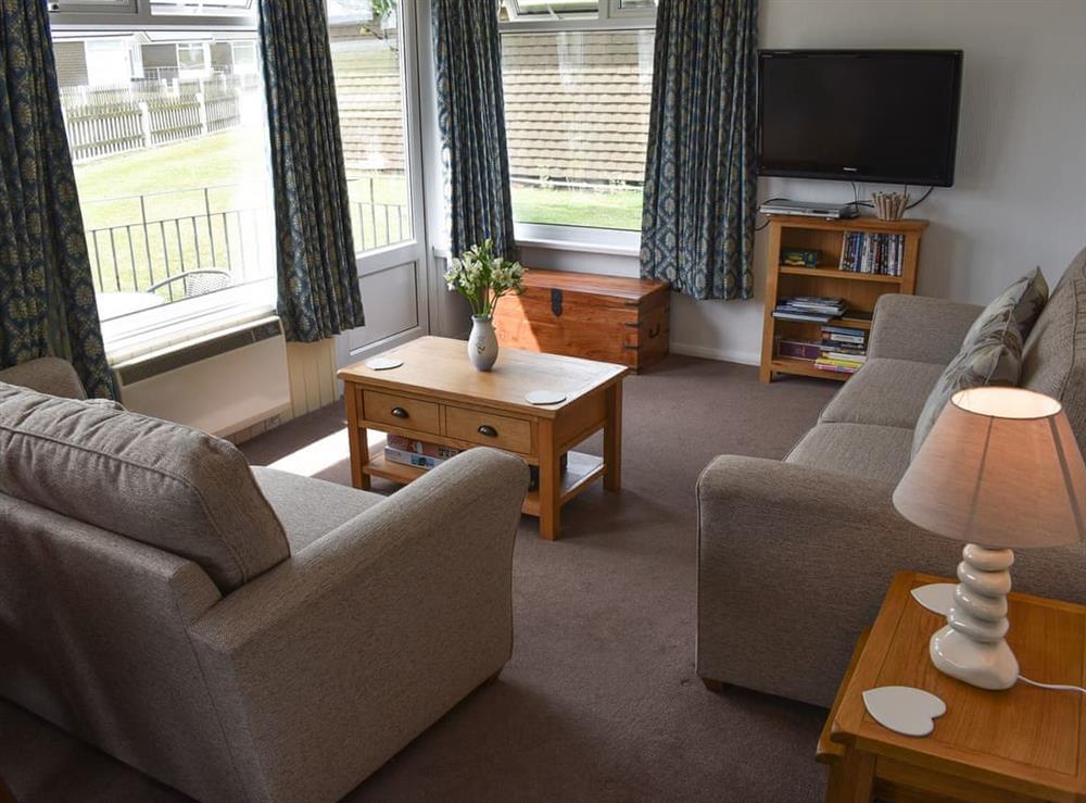 Lounge area at Norton Park in Dartmouth, Devon