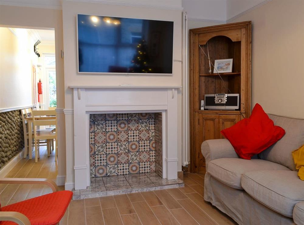 Comfortable living area at Number 8 in Sheringham, Norfolk
