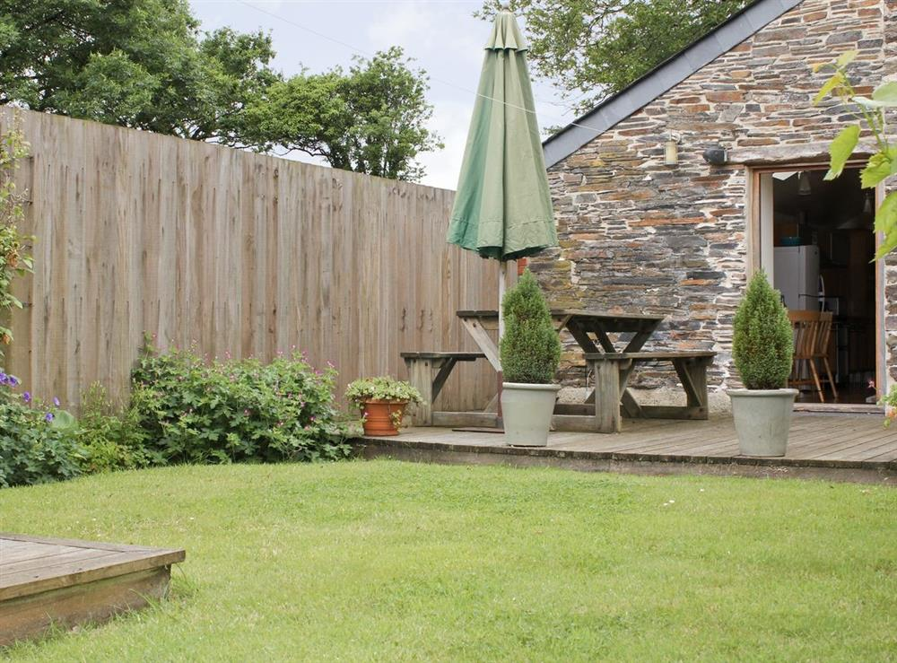 Garden at Oak Barn in Diptford, Nr. Totnes, S. Devon., Great Britain