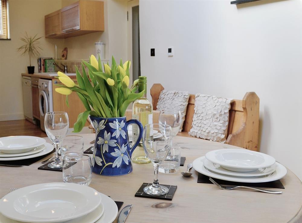 Kitchen/diner at Oak Barn in Diptford, Nr. Totnes, S. Devon., Great Britain