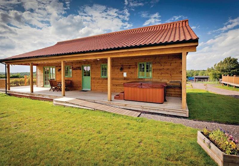 Kingfisher Lodge at Oak Farm Lodges in Norfolk, East of England