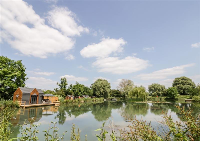 The setting of Oak Lodge At Bridge Lake Farm & Fishery at Oak Lodge At Bridge Lake Farm & Fishery, Chacombe