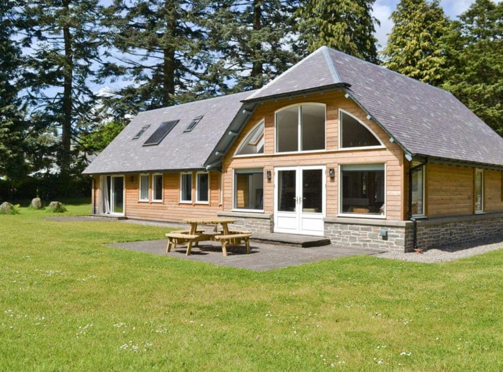 Exterior at Oak Lodge in St Fillans, near Crieff, Perthshire