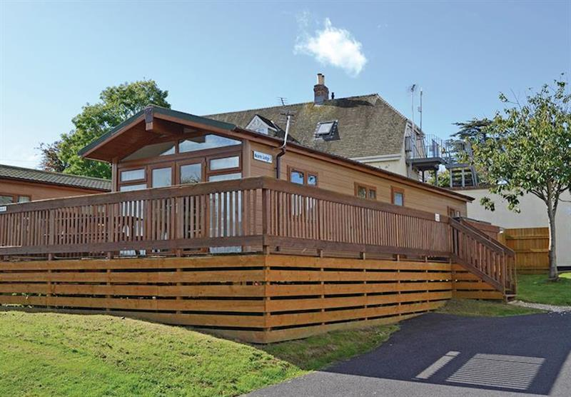 Acorn Lodge at Oakcliff Holiday Park in Dawlish, South Devon