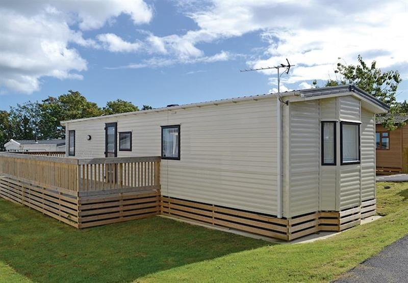 The outside of Pinewood at Oakcliff Holiday Park in Dawlish, South Devon
