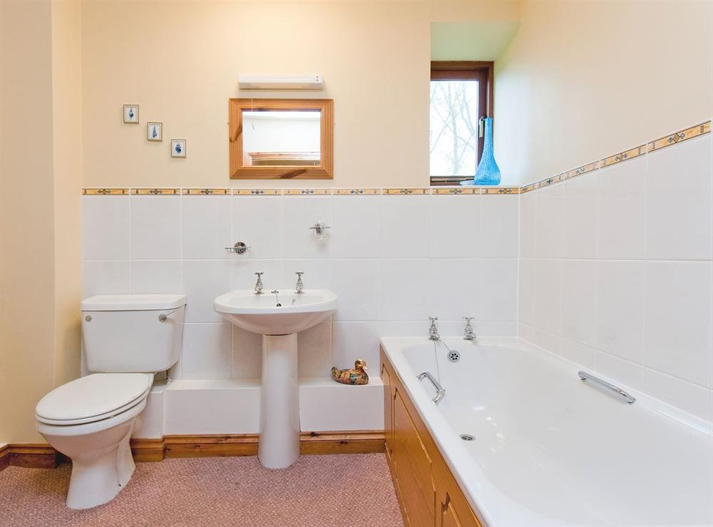 Bathroom at Oast House in Bromyard, Hereford., Herefordshire