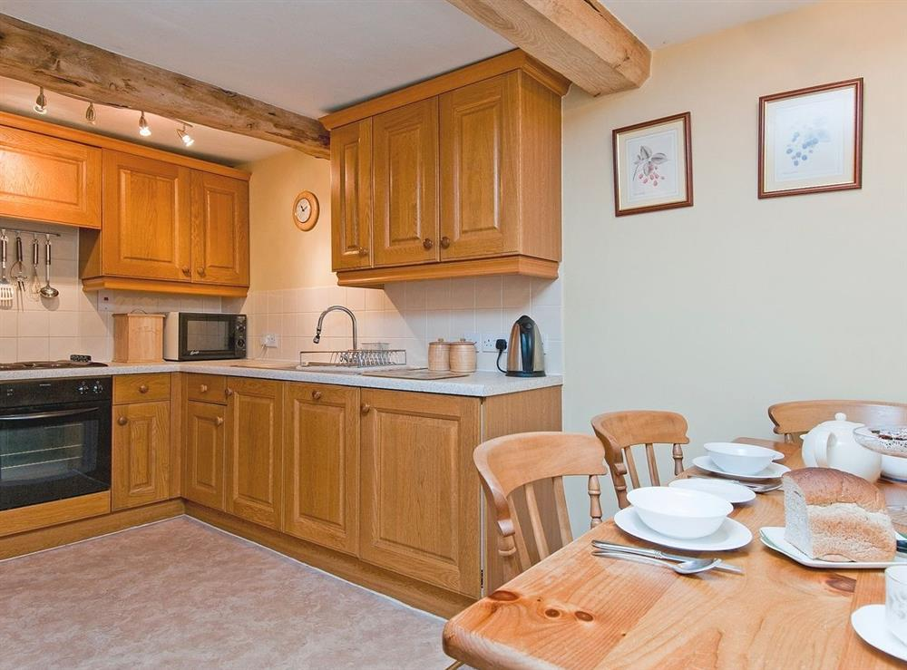 Kitchen at Oast House in Bromyard, Hereford., Herefordshire