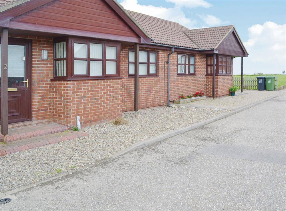 Single storey detached cottage on a private estate at Ocean View in Walcott, near Happisburgh, Norfolk