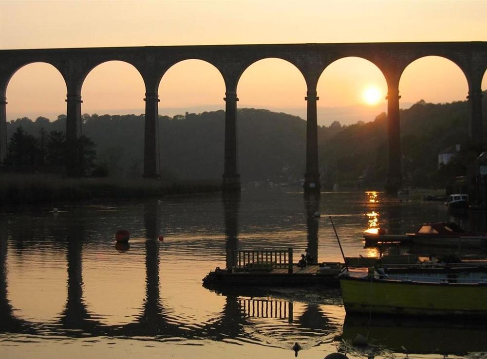 Calstock Viaduct at The Count House,