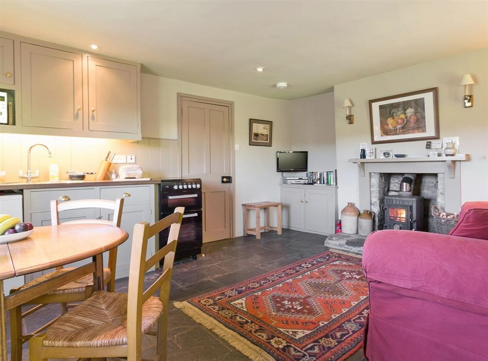 Open plan living/dining room/kitchen at The Count House,