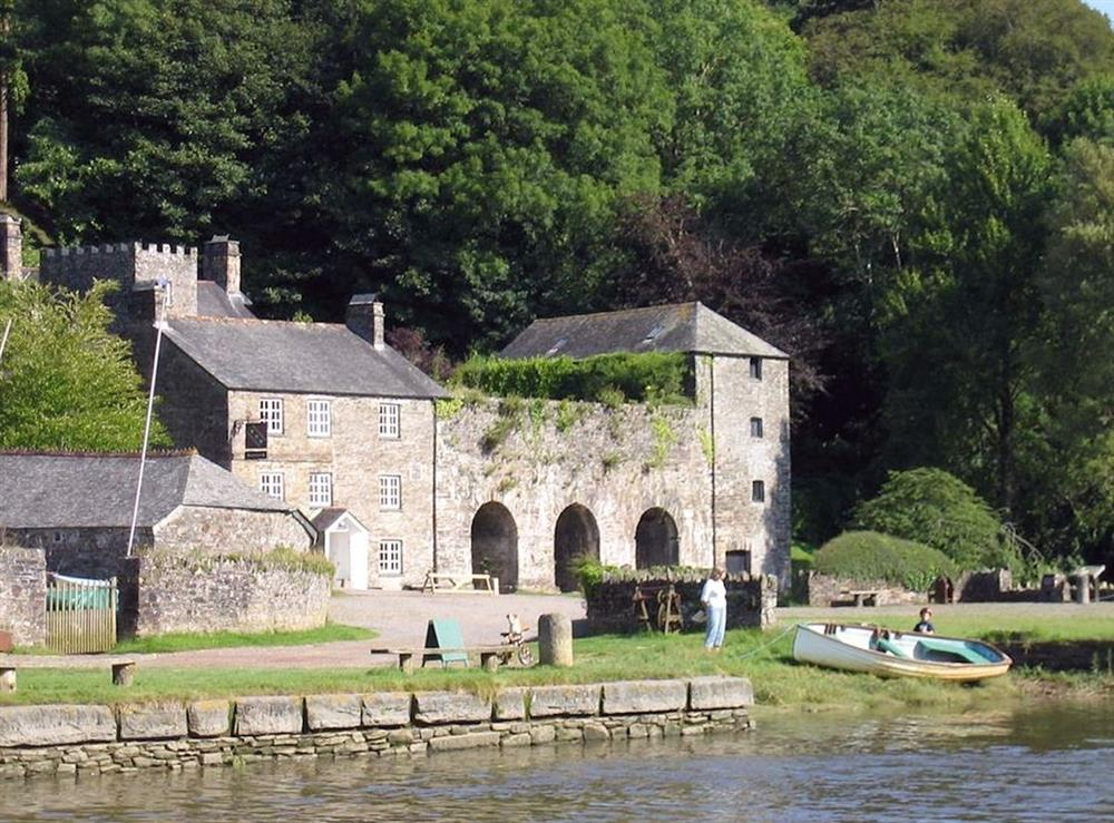 National Trust Cotehele Quay at The Smithy,