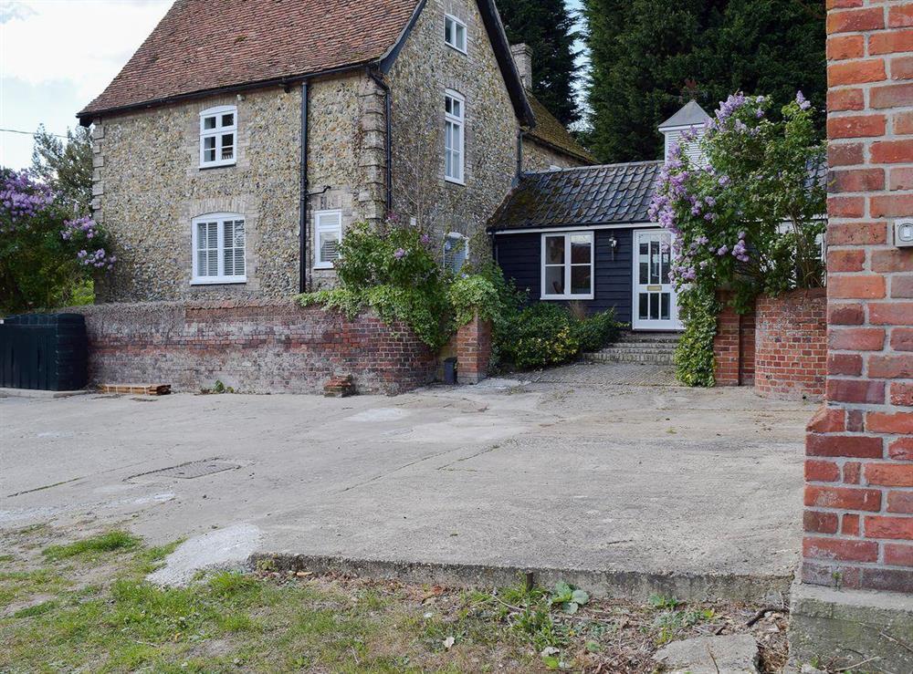 Exterior at Old Applecroft Farmhouse in Great Henny, near Sudbury, Essex, Suffolk