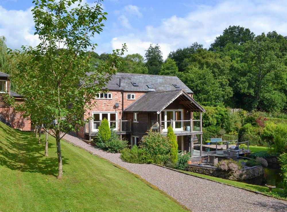 Old Castle Mill thoughtfully converted into a spacious holiday home at Old Castle Mill in Malpas, Cheshire
