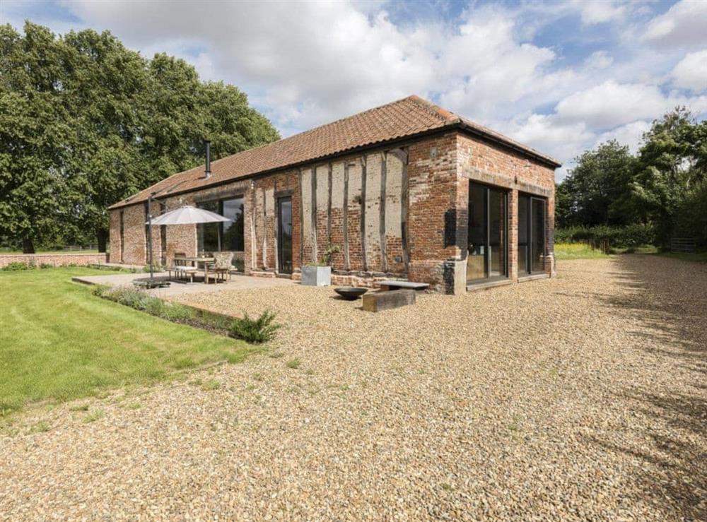 Lovely detached converted barn at Old Hall Farm Barn in Kerdiston, near Norwich, Norfolk
