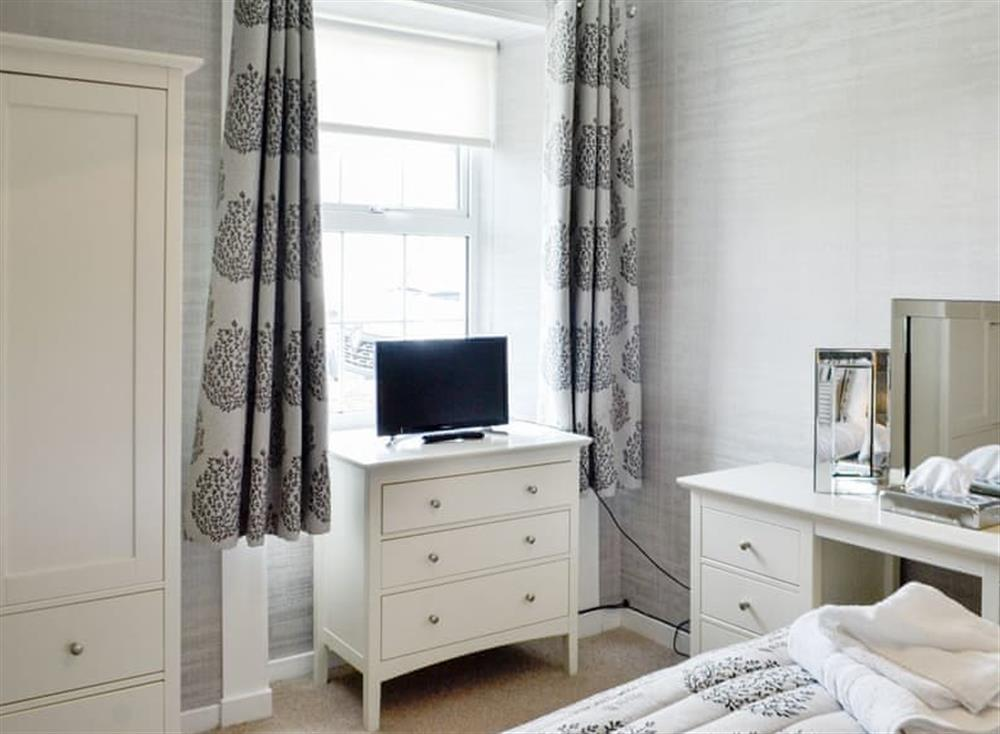 Attractive ground floor double bedroom at Old Loans Cottage in Loans, near Troon, Ayrshire