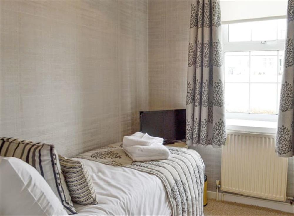 Ground floor single bedroom at Old Loans Cottage in Loans, near Troon, Ayrshire