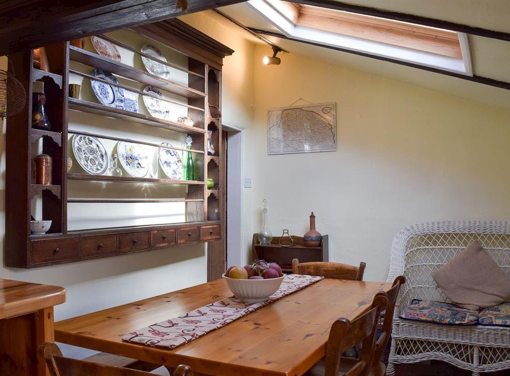 Dining area at Old Maltsters Arms Cottage in Pulham St Mary, near Diss, Norfolk