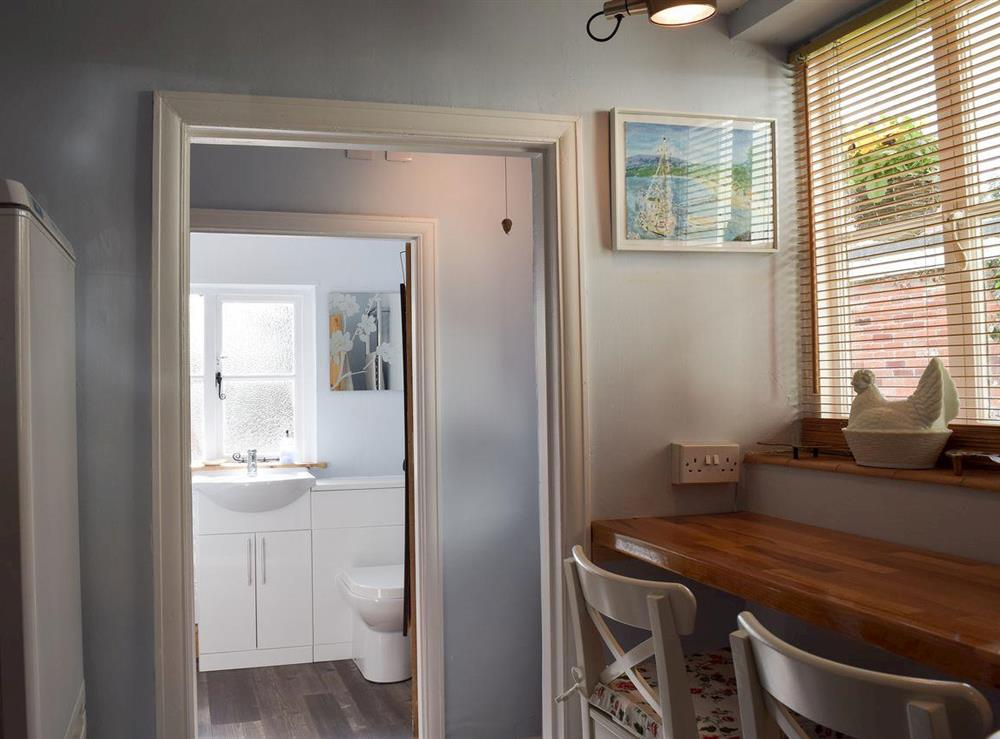 Downstairs bathroom at Old Maltsters Arms Cottage in Pulham St Mary, near Diss, Norfolk