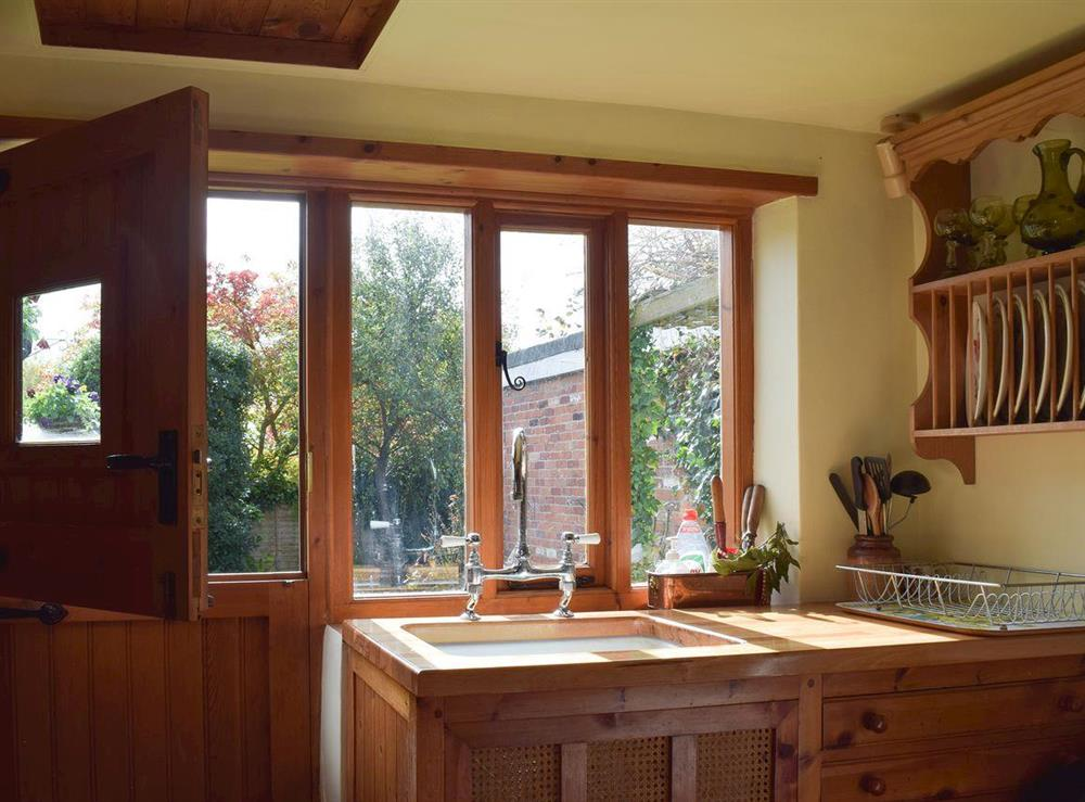 Kitchen at Old Maltsters Arms Cottage in Pulham St Mary, near Diss, Norfolk