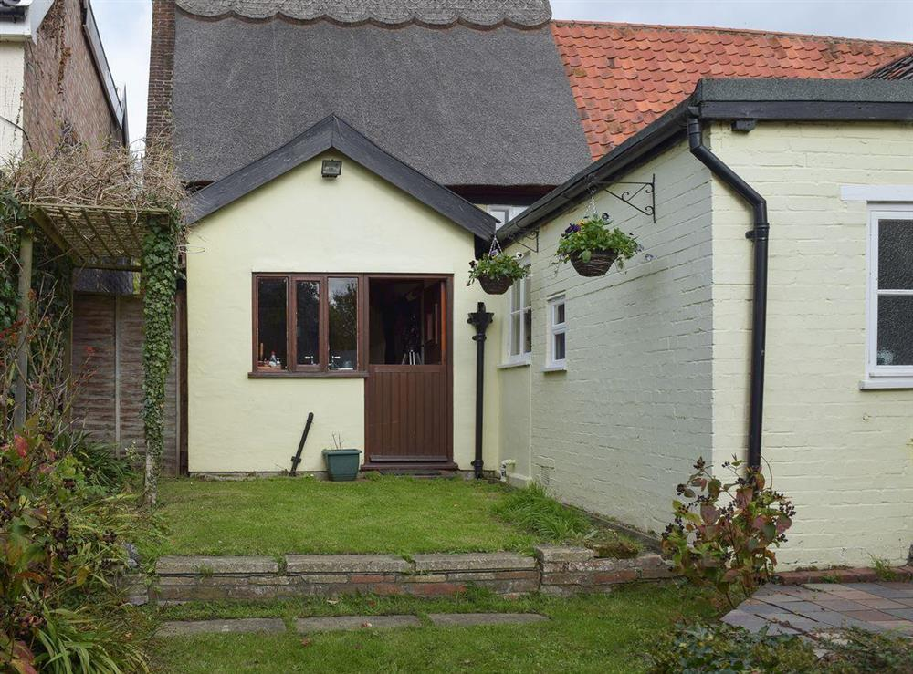 Rear of the property at Old Maltsters Arms Cottage in Pulham St Mary, near Diss, Norfolk