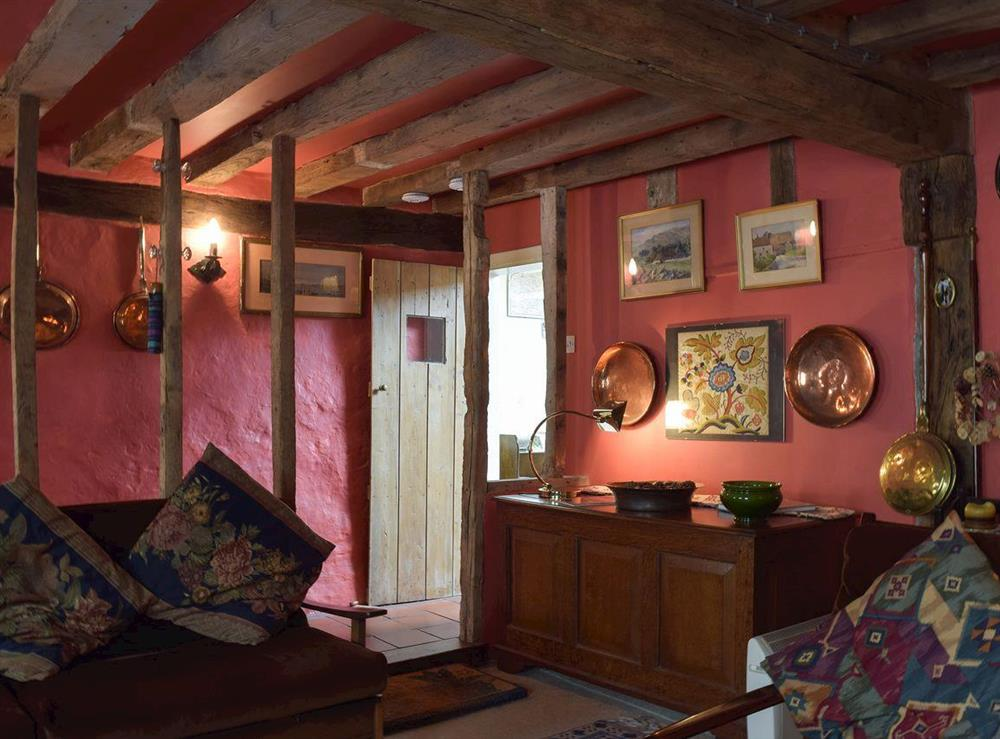 Traditional living space at Old Maltsters Arms Cottage in Pulham St Mary, near Diss, Norfolk