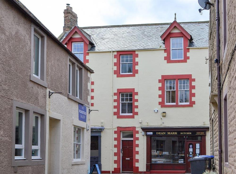 Lovely first floor apartment at Old Town Apartment in Eyemouth, The Scottish Borders, Berwickshire