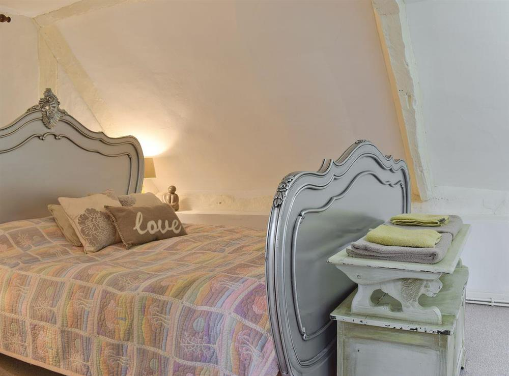 Comfortable double bedroom at Lovers Cottage,