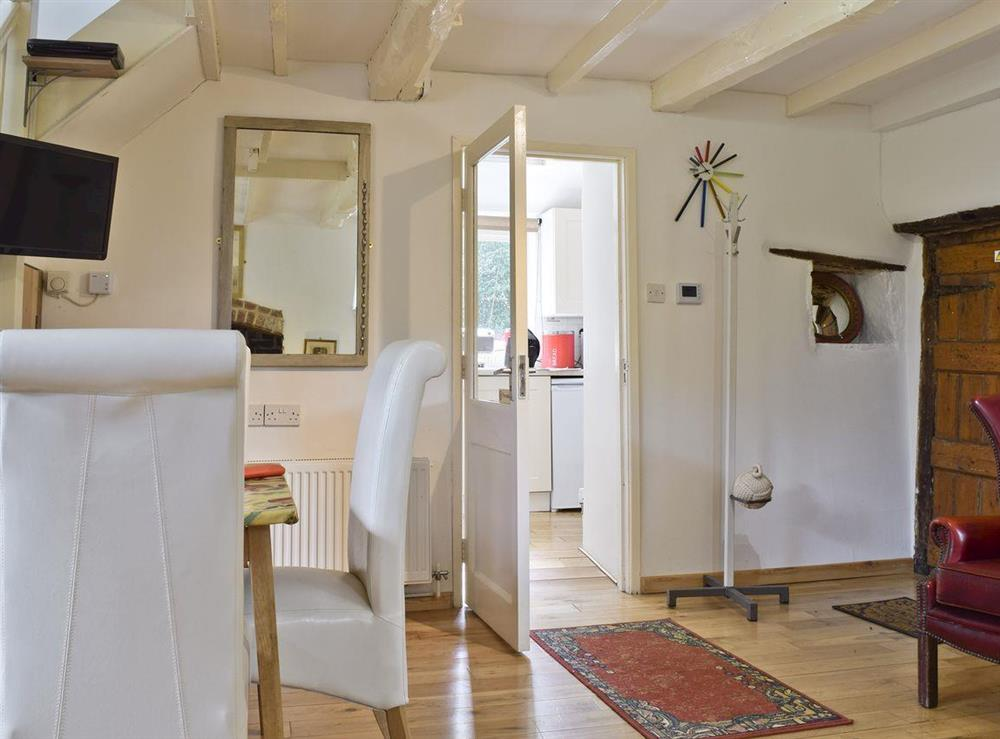 Intimate dining area at Lovers Cottage,