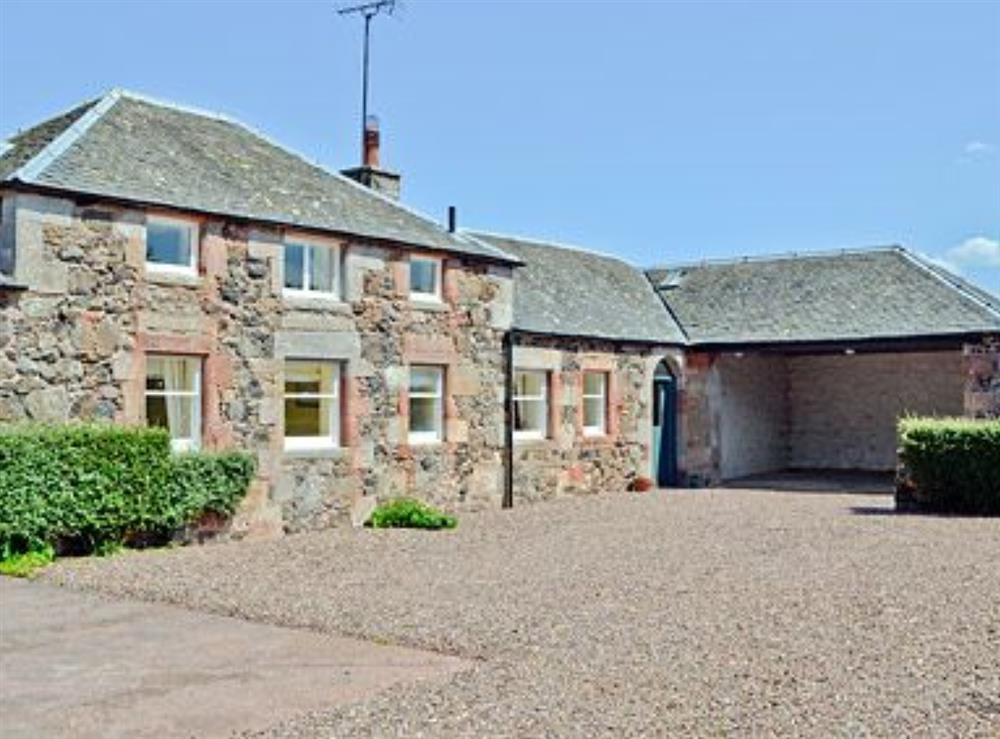 Exterior at Oldhamstocks Cottage in Oldhamstocks, By Dunbar, East Lothian., Berwickshire